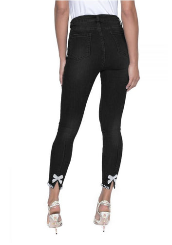 Black Denim Pant