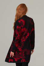 Load image into Gallery viewer, Black & Red Floral Cover Up