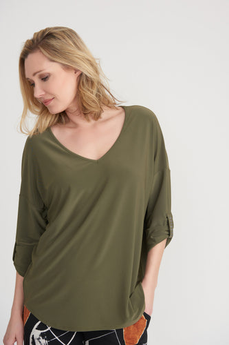 3/4 Sleeve Bonzai Top