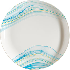 Marble Waves Salad Plate