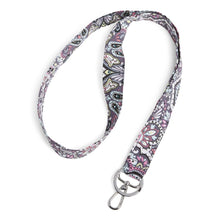 Load image into Gallery viewer, Wide Floral Lanyard