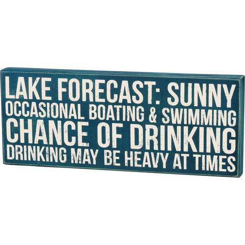 Lake Forecast Box Sign