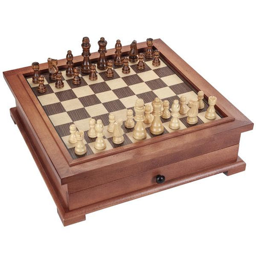 10-In-1 Camphor Wood Combination Set