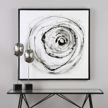 Load image into Gallery viewer, Eye On The World Hand Painted Canvas