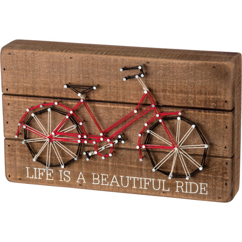 Life Is A Beautiful Ride String Art
