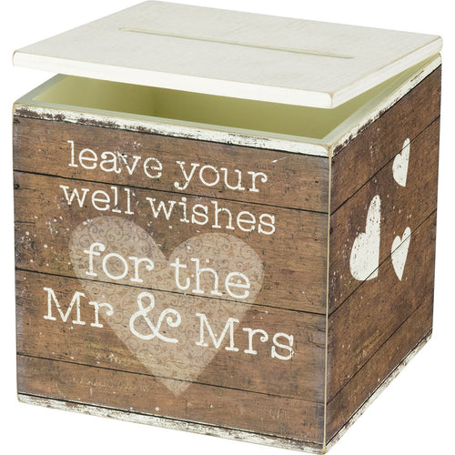 Mr & Mrs Card Box