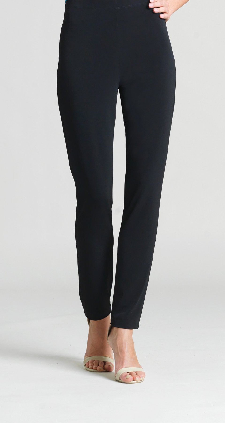 Knit Straight Leg Pant Black