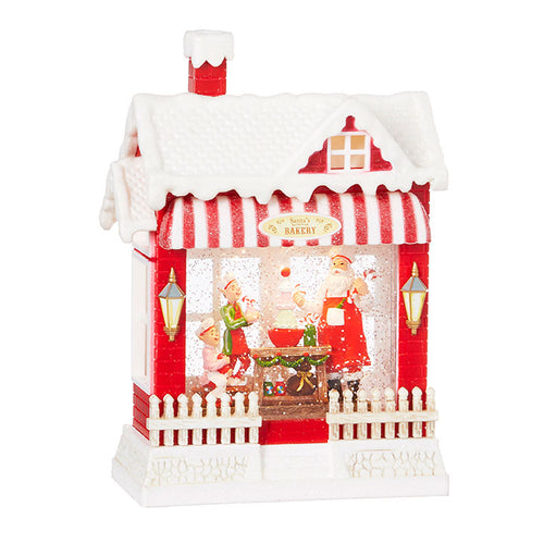 Santa's Musical Lighted Water Bakery Lantern