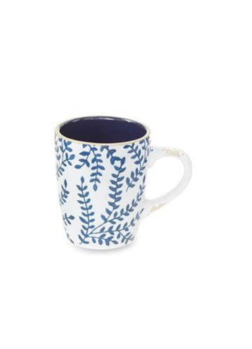 Branch Blue Stoneware Mug