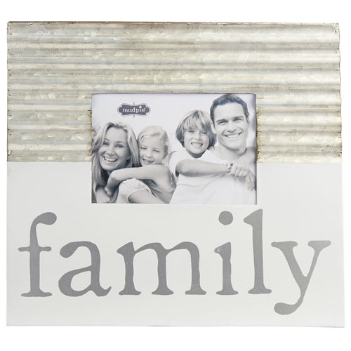 Family Tin & Ennamel Frame