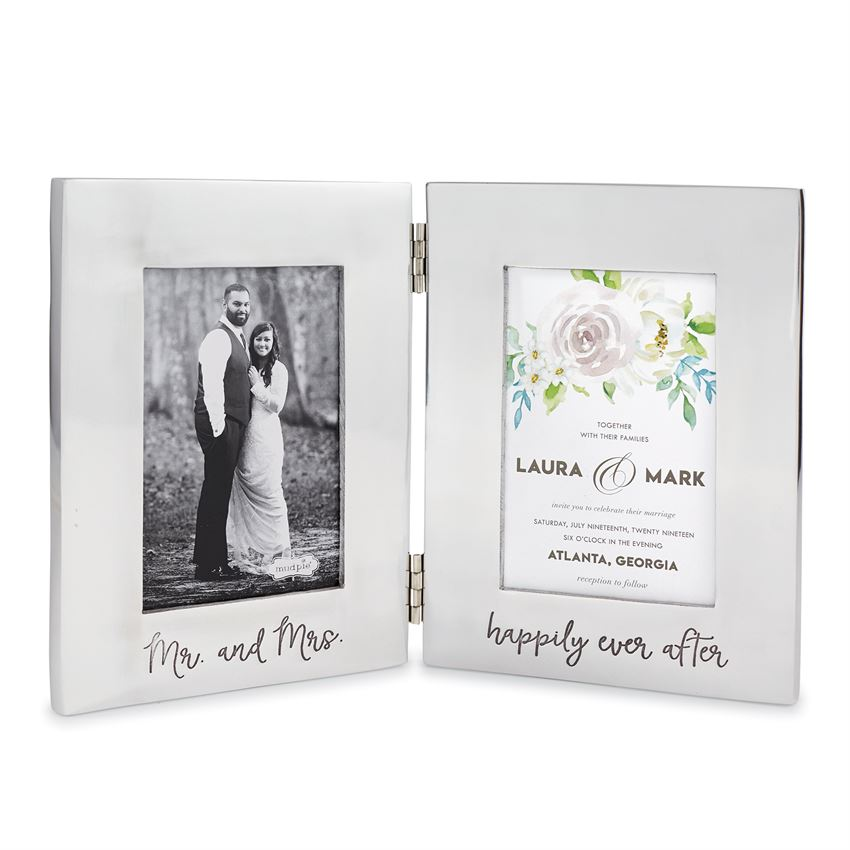 Bridal Engraved Folding Frame