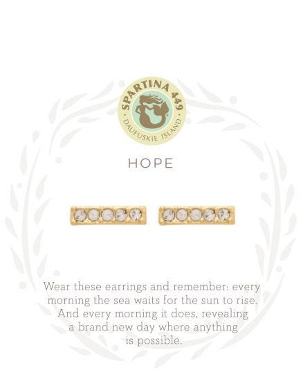 Sea La Vie Hope Stud Earrings