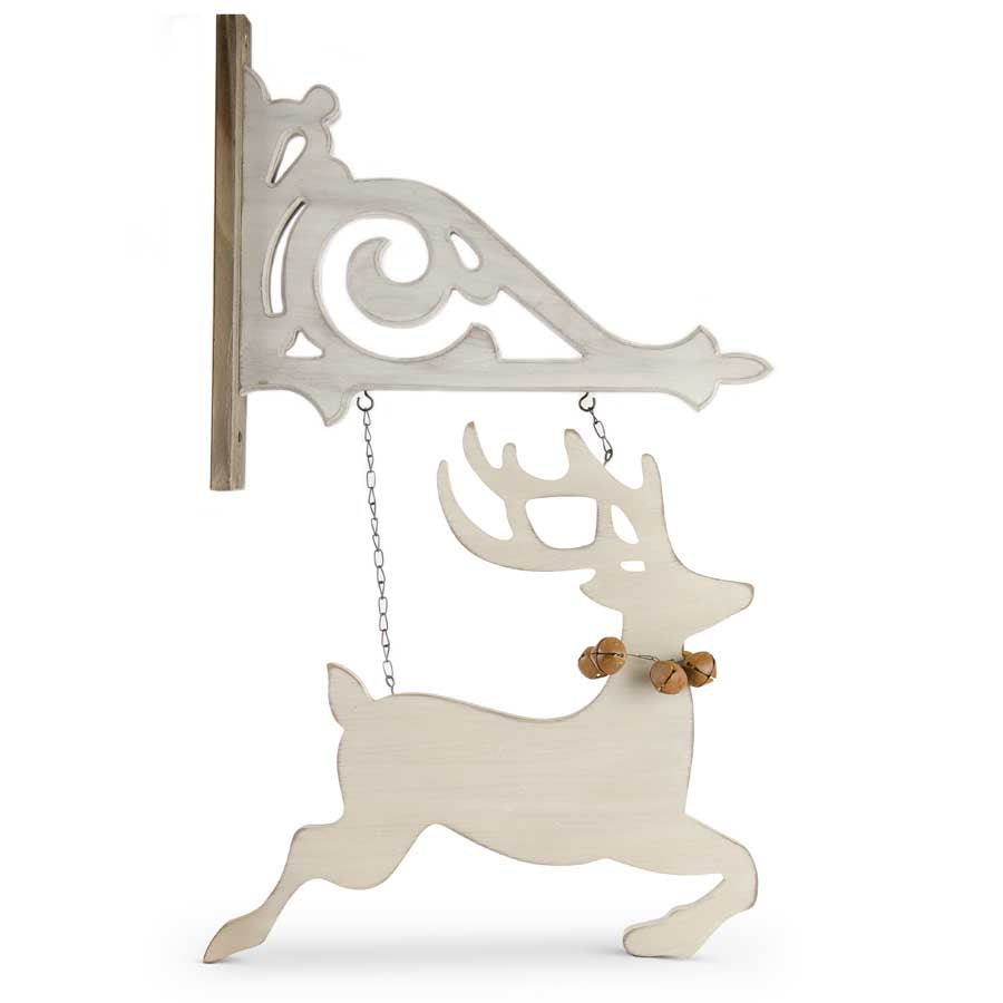 Cutout Reindeer with Bells
