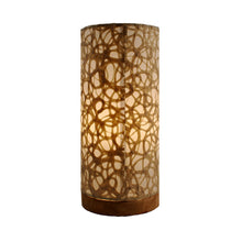 Load image into Gallery viewer, Paper Cylinder Table Lamp (Various Patterns)