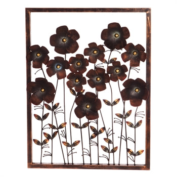Iron Flower Frame Wall Decor