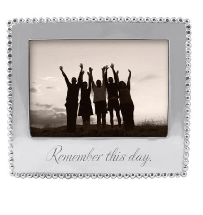 Remember This Day Frame