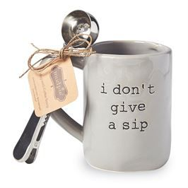 Don't Give A Sip Mug Set