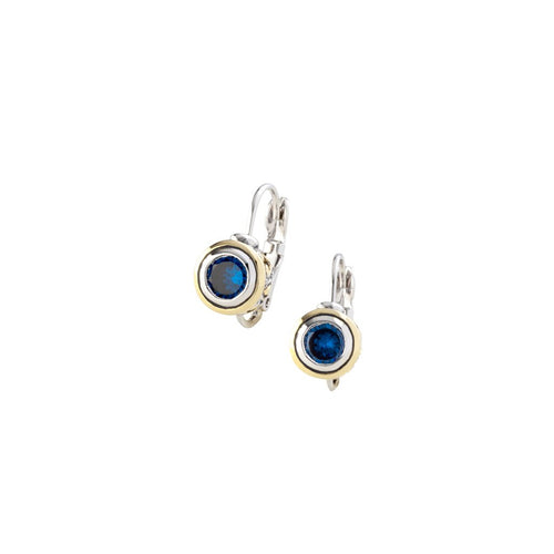 Beijos 6mm CZ Bezel Set Earrings