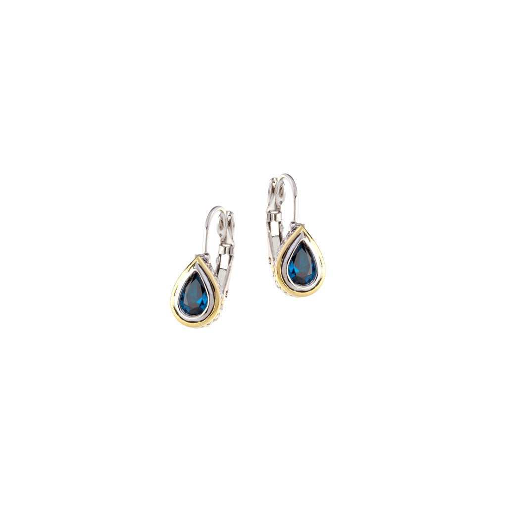 Beijos Pear Shape Earrings