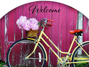 Spring Bicycle Plaque-Small