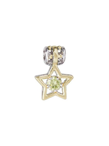 Birthstone Star Charm