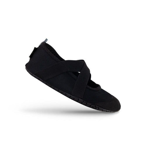 Black Crossover Athleisure Shoes
