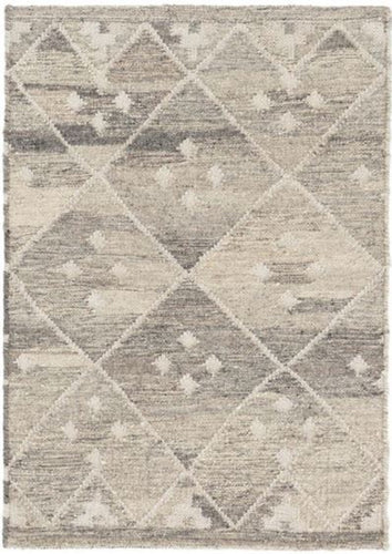 Kota Woven Wool Rug (Various Colors & Sizes)