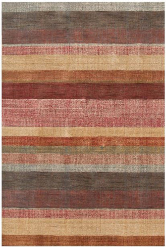 Stonover Stripe Hand Knotted Rug (Various Sizes)