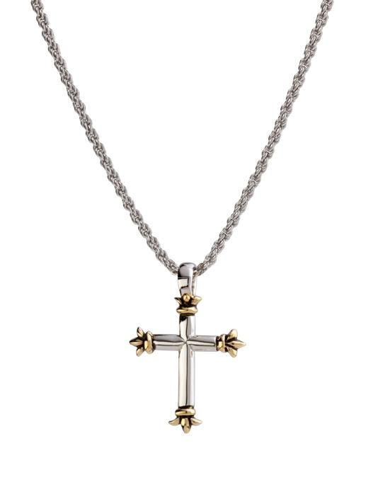 Crown Point Cross Necklace