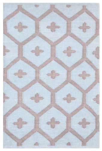 Elizabeth Blue Indoor/Outdoor Rug (Various Sizes)