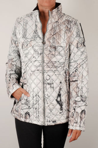 Paris Printed Jacket