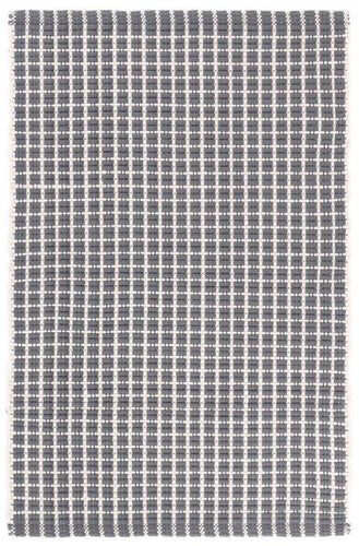 Gridiron Grey Indoor/Outdoor Rug (Various Sizes)