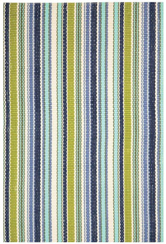 Pond Stripe Indoor/Outdoor Rug (Various Sizes)