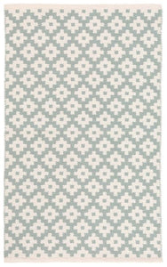 Samode Light Blue/Ivory Indoor/Outdoor Rug (Various Sizes)