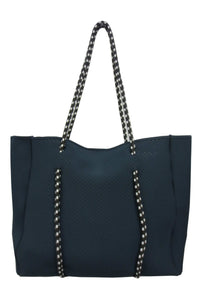 Tote Bag With Bungee Handles