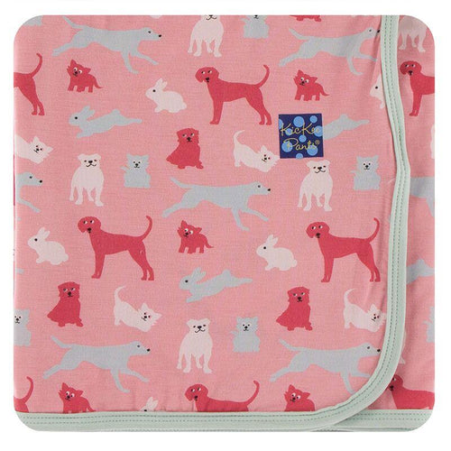Swaddling Blanket - Strawberry Animals
