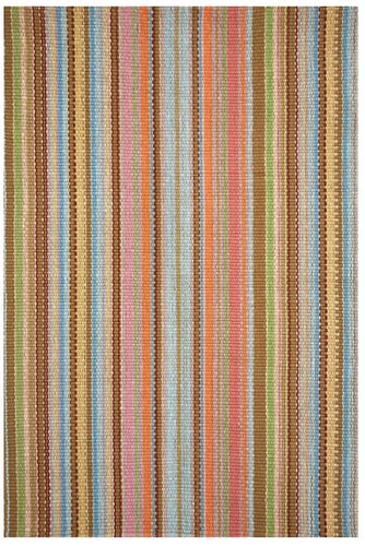 Zanzibar Ticking Indoor/Outdoor Rug (Various Sizes)
