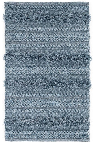 Zhara Stripe Denim Indoor/Outdoor Rug (Various Sizes)