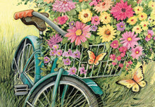 Load image into Gallery viewer, Bicycle Bouquet Puzzle