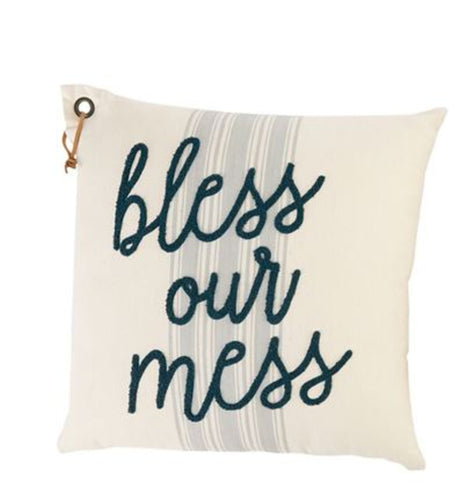 Bless Our Mess Pillow