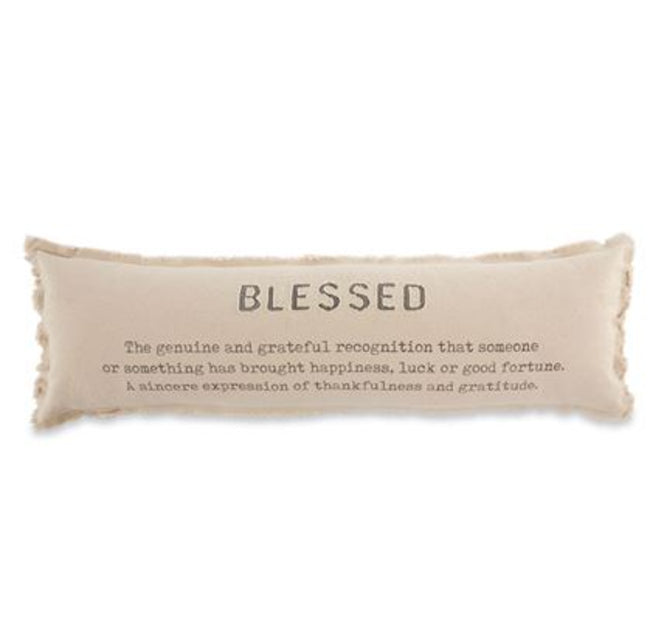 Blessed Long Pillow