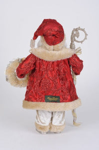 Red Coat Seashell Santa