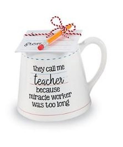 Teacher Mug- Miracle