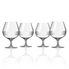 Load image into Gallery viewer, Diamond Brandy Snifter Set