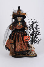 Load image into Gallery viewer, Lt Haunted Trail Witch On Base