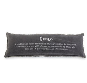 Home Definition Canvas Pillow
