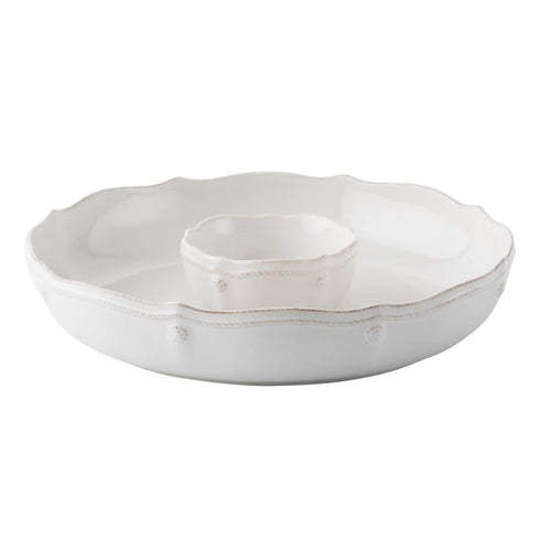 Berry & Thread Chip 'n' Dip (2pc set)- Whitewash