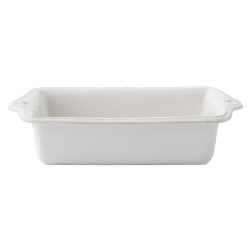 Berry & Thread Loaf Pan- Whitewash