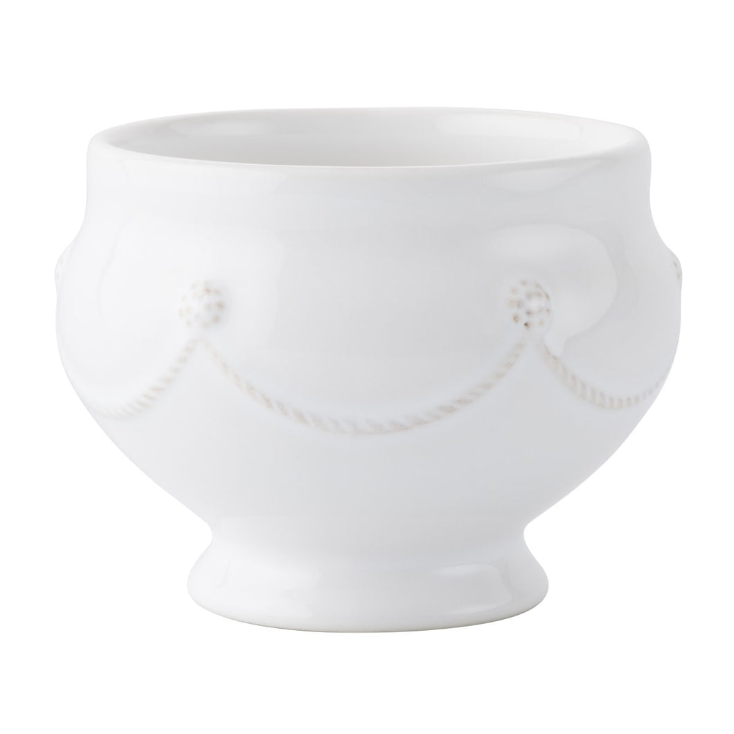 Berry & Thread Footed Soup Bowl-Whitewash Set of 4