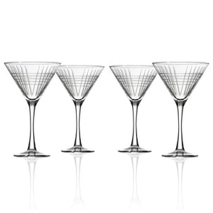 Matchstick Martini Glass Set